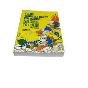 Color Yourself Happy Postcards NEW